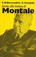 Cover of Invito alla lettura di Montale