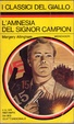 Cover of L'amnesia del signor Campion