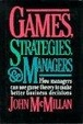 Cover of Games, Strategies and Managers