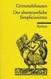 Cover of Der abenteuerliche Simplicissimus Teutsch