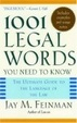 Cover of 1001 Legal Words You Need to Know
