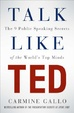 Cover of Talk like TED