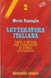 Cover of Letteratura italiana 2