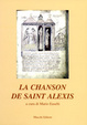 Cover of La chanson de saint Alexis