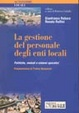 Cover of La gestione del personale degli enti locali