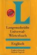 Cover of Langenscheidts Universal-Wörterbuch Englisch