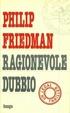 Cover of Ragionevole dubbio