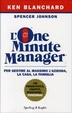 Cover of L' one minute manager