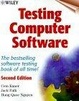 Cover of Testing Computer Software, 2nd Edition