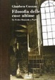 Cover of Filosofia delle cose ultime