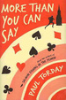 Cover of More Than You Can Say