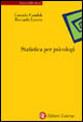 Cover of Statistica per psicologi