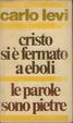 Cover of Cristo si è fermato a Eboli - Le parole sono pietre