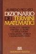 Cover of Dizionario dei termini matematici