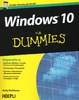 Cover of Windows 10 for Dummies