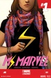 Cover of Ms. Marvel Vol.3 #1