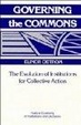 Cover of Governing the Commons