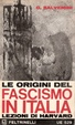 Cover of Le origini del fascismo in Italia