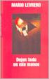 Cover of Dejen Todo En Mis Manos