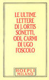 Cover of Le ultime lettere di Jacopo Ortis