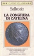 Cover of La congiura di Catilina