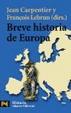 Cover of Breve historia de Europa