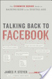 Cover of Talking Back to Facebook