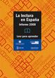 Cover of La lectura en España: informe 2008