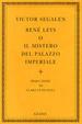 Cover of René Leys o il mistero del palazzo imperiale
