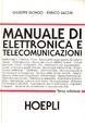 Cover of Manuale di elettronica e telecomunicazioni