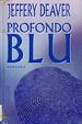 Cover of Profondo blu
