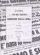 Cover of La Storia nelle prime pagine del Corriere della Sera