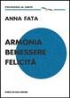 Cover of Armonia benessere felicità