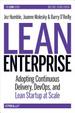 Cover of Lean Enterprise