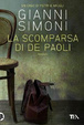 Cover of La scomparsa di De Paoli