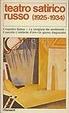 Cover of Teatro satirico russo (1925-1934)