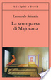 Cover of La scomparsa di Majorana