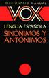 Cover of Diccionario manual de sinónimos y antónimos