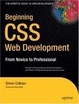 Cover of Beginning CSS Web Development