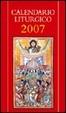 Cover of Calendario liturgico 2007
