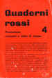 Cover of Quaderni rossi 4