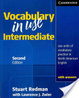 Cover of Vocabulary in Use Intermediate: 100 Units of Vocabulary Practice in North American English