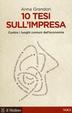Cover of 10 tesi sull'impresa