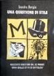 Cover of Una questione di stile