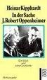 Cover of In Der Sache J. Robert Oppenheimer