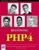 Cover of Beginning Php 4