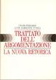 Cover of Trattato dell'argomentazione