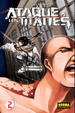 Cover of Ataque a los Titanes #2