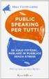 Cover of Public speaking per tutti. Se solo potessi... parlare in pubblico senza stress