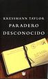 Cover of Paradero Desconocido
